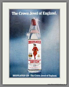 Beefeater Gin. The Crown Jewel Of England. Original Advert 1979 (ref AD51629)