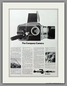 Hasselblad Paillard Camera. Original Advert 1973 (ref AD51714)
