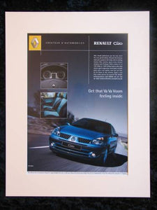Renault Clio. Original advert 2002 (ref AD153)