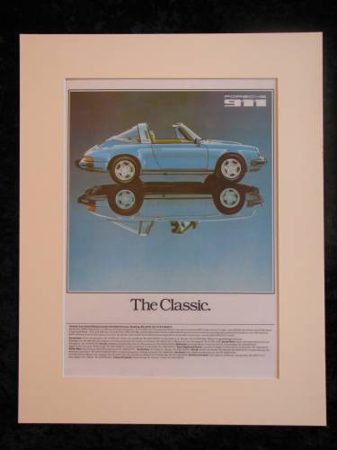 Porsche 911 Original advert 1979 (ref AD154)