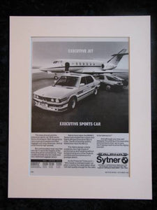 BMW Alpina Sytner. Original advert 1983 (ref AD157)