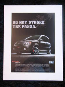 FIAT PANDA original advert 2007 (ref AD262)