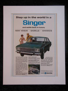 Singer Vogue Original advert 1966 (ref AD263)