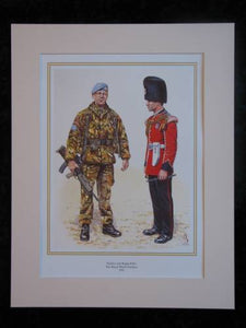 The Royal Welsh Fusiliers 1995. Mounted print (ref PR424)