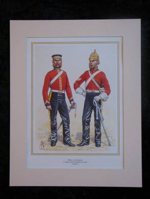 Royal Irish Dragoon Guards Crimea  Mounted print (ref PR425)