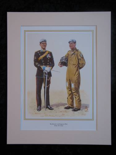 Army Air Corps  Mounted print (ref PR431)