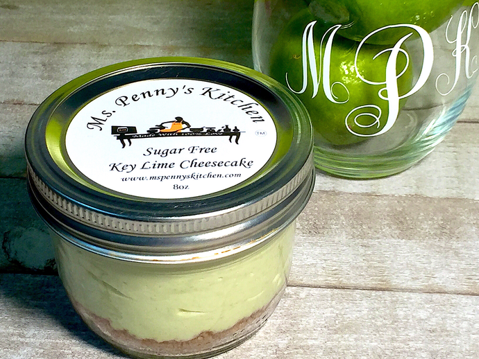 Sugar-Free Key Lime Cheesecake