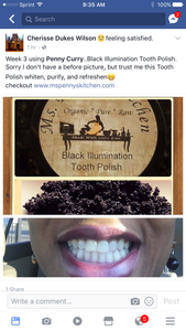 Black Illumination Tooth Polish