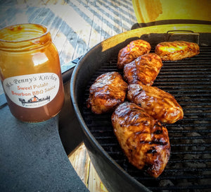Sweet Potato Bourbon BBQ Sauce