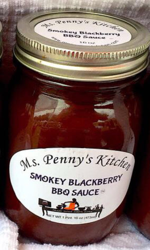 Smokey Blackberry BBQ Sauce