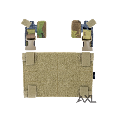 Adaptive Vest Placard (AVP) for Crye JPC™ & MOLLE Carriers