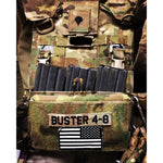 Adaptive Vest Placard (AVP) for Army Issued Body Armor Carriers