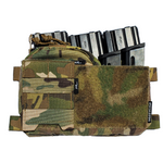 Half MOLLE Panel for Spiritus Systems Micro Fight Chest Rig