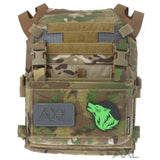 AXL Adaptive Vest Placard AVP for the Crye Precision JPC 1.0 with Spiritus Systems Micro Fight Chest Rig MFCR