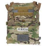 AXL Adaptive Vest Placard AVP for the Crye Precision JPC 1.0 with G-Hook Ferro Concepts Front Flap Placard