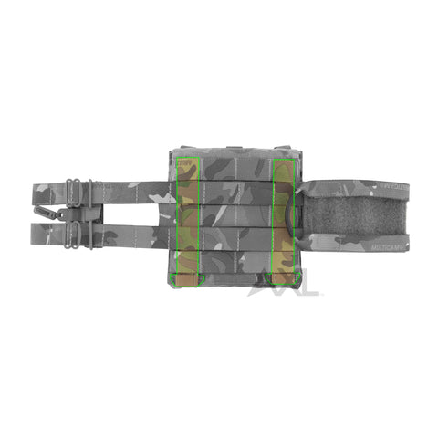 6x6 AVS™ Side Armor Pouch MOLLE Adapters (Pair)