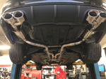 Mercedes C63 AMG W204 Valved exhaust