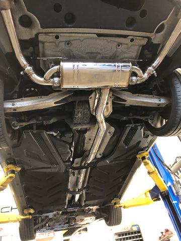 Mercedes Benz CLA 45 catback Valved exhaust