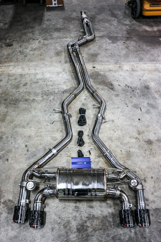 BMW F87 M2 N55 Exhaust