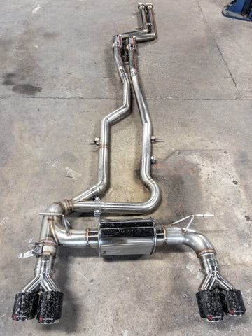 BMW M2 Competition Equal Length Exhaust F87 S55