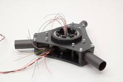 3-axis rotating legs gimbal mechanism