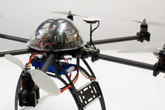 Medium weight SIXcopter frame with 16mm tubes