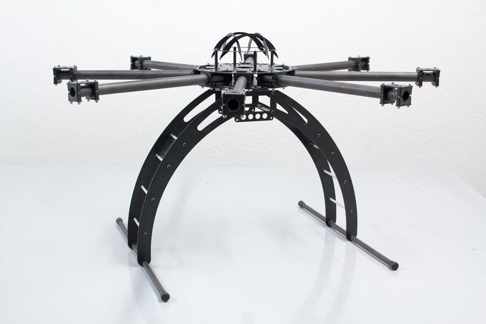 medium weight octocopter frame with 215mm carbon arms