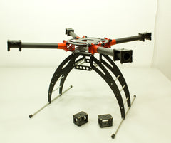 PROMO SET - V2 of FOLDABLE QUAD/X8 25mm