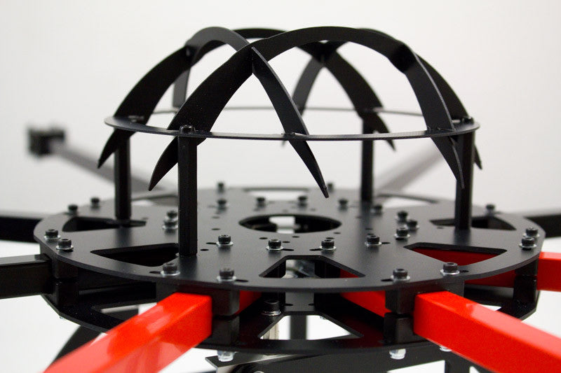 medium weight octocopter frame with 12x12mm arms