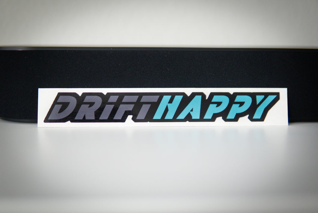 Drifthappy Sticker