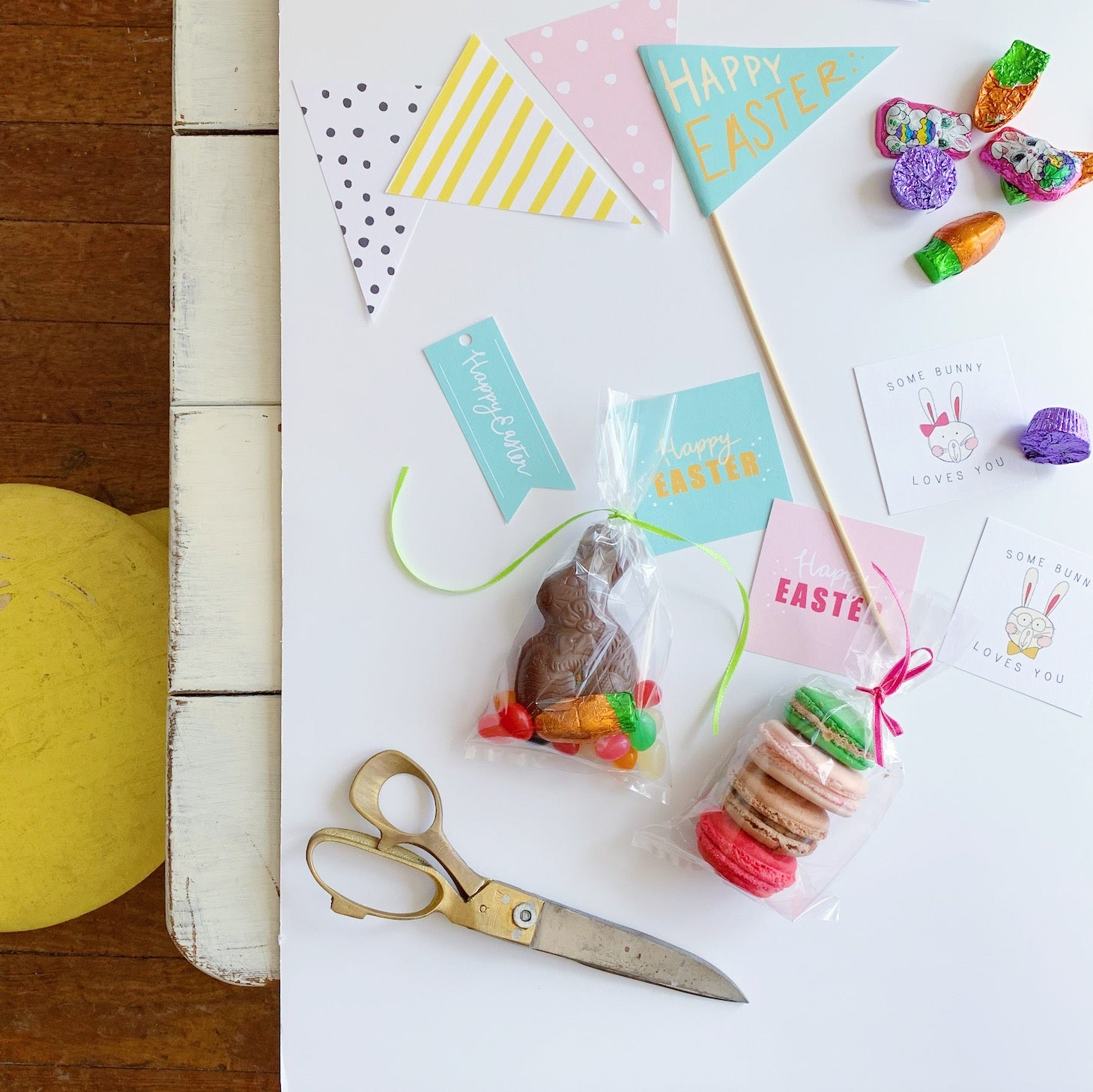 Happy Easter DIY Free Printable