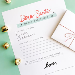 Letter to Santa Download