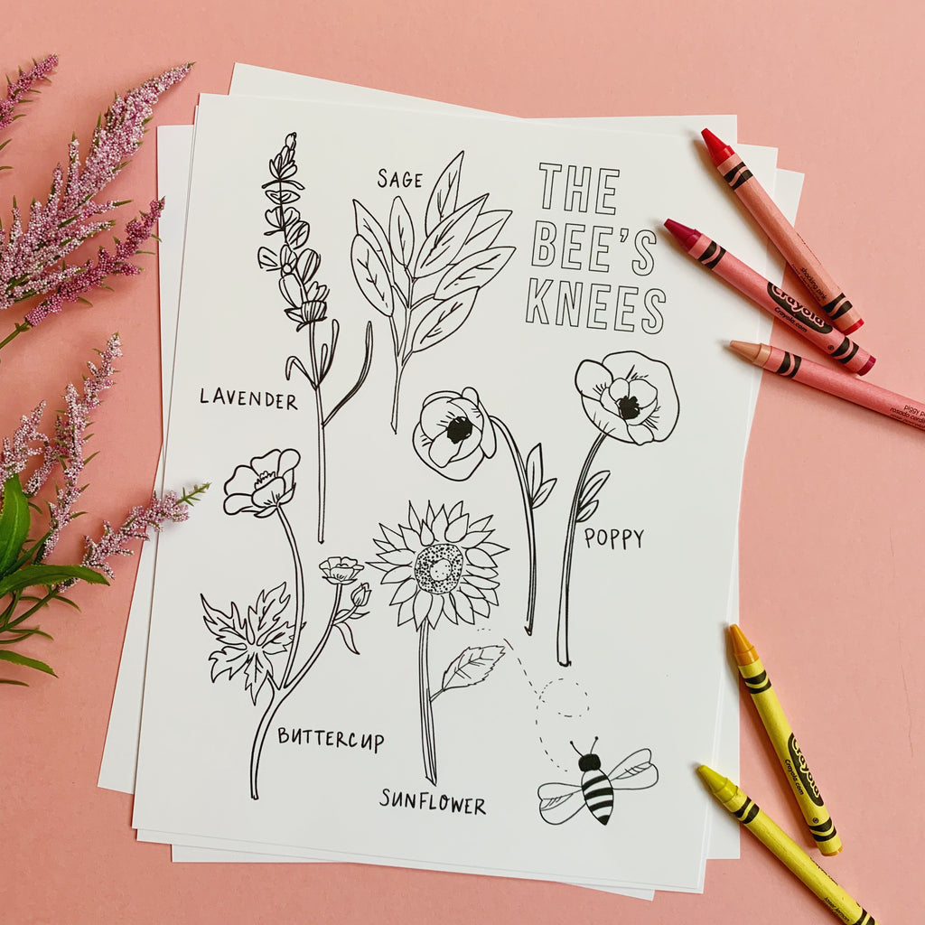 "Free ""Be kind"" Coloring Sheet Download"