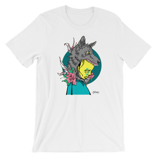 New Mexican Kid Coyote - Unisex T-Shirt - Sam Flores