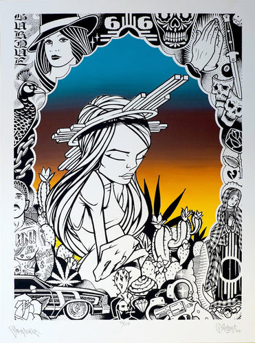Kactus Kids Collab (Print) - Sam Flores & Mike Giant