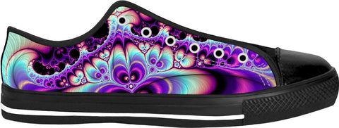 Purple Trip Low Tops Sneakers - ElysiumFields