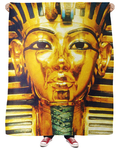 Pharaoh Fleece Blanket - ElysiumFields
