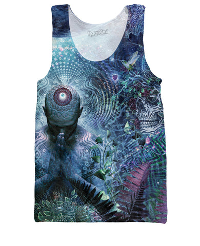 Gratitude for the Earth and Sky Tank Top - ElysiumFields