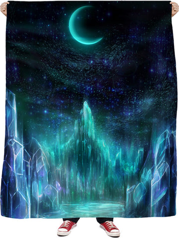 The Midnight Realms Fleece Blanket - ElysiumFields
