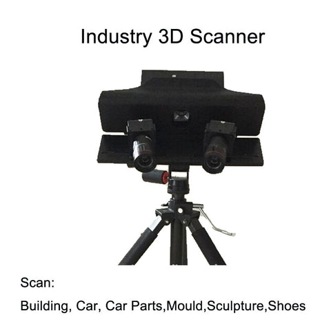 Industry 3D Scanner high resolution reverse engineering 3D measure device - ElysiumFields
