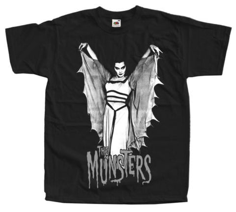 The Munsters Movie Mens Funny T-Shirt Japanese Streetwear T Shirts Designer Tee Shirt Custom T-Shirts Big Size Men - ElysiumFields