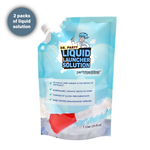 liquid launcher foam solution for a foam party