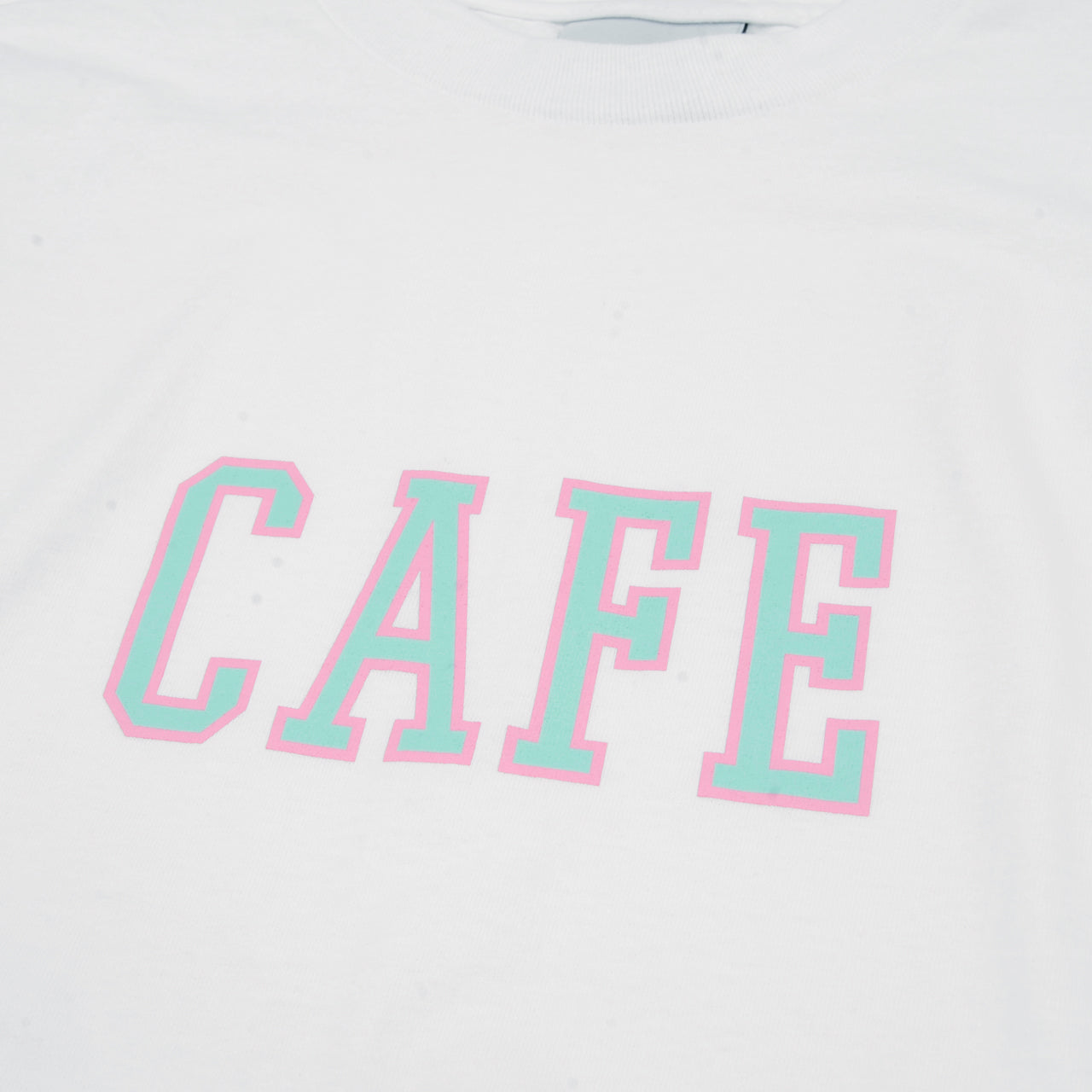 College T-Shirt (White)