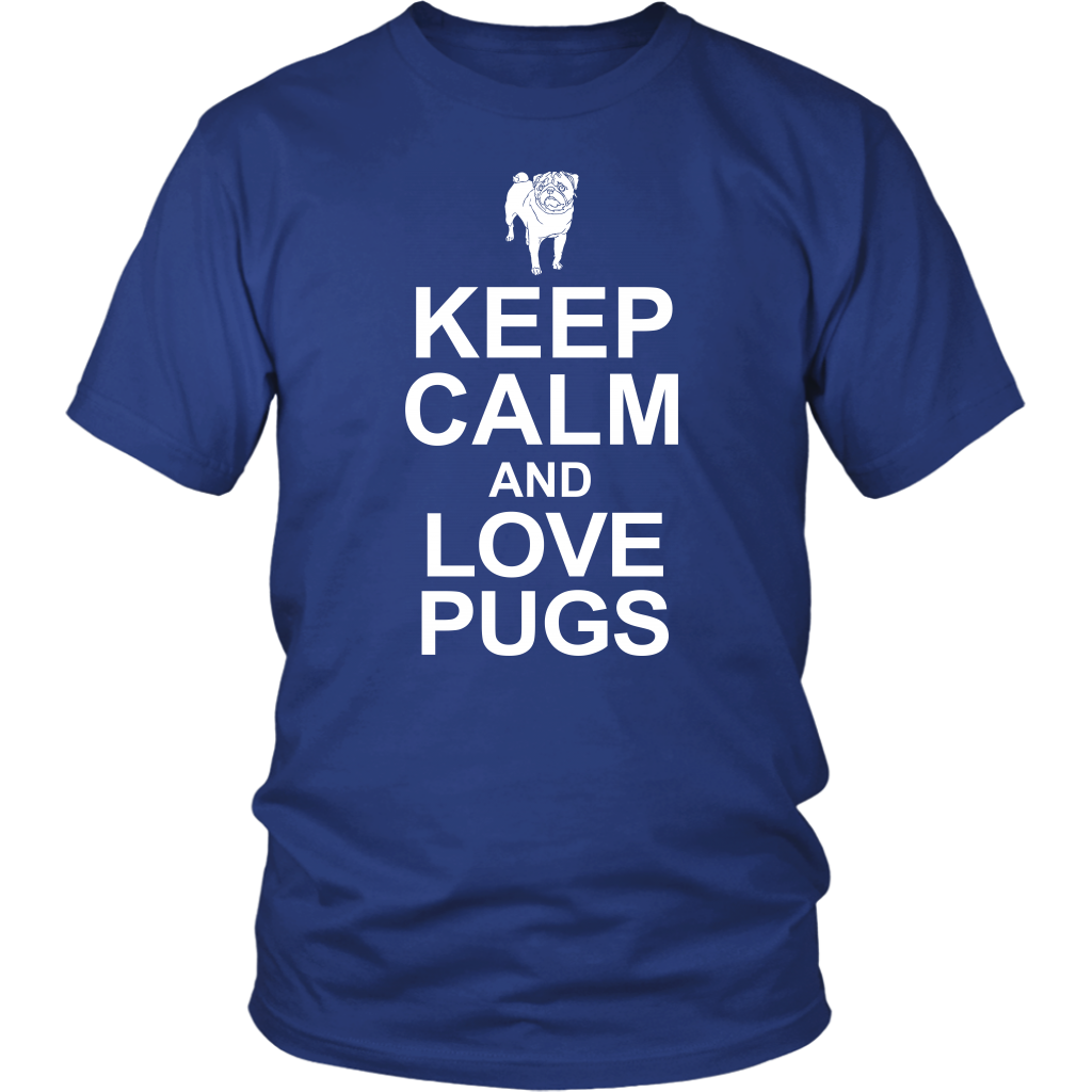 Keep Calm Love Pugs