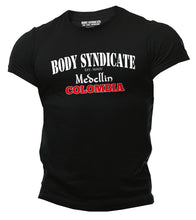 Upload the image to the gallery viewer, BODY SYNDICATE - Medellin Colombia T-Shirt - Worldwide Syndicate Collection