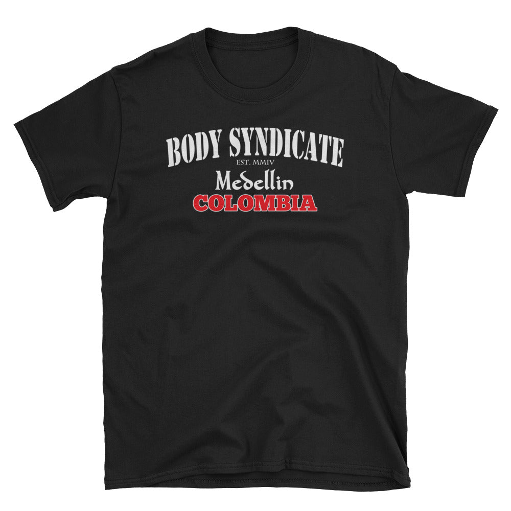 BODY SYNDICATE - Medellin Colombia T-Shirt - Worldwide Syndicate Collection
