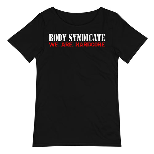 BODY SYNDICATE - Signature Line no. 9 - Raw Neck T-Shirt