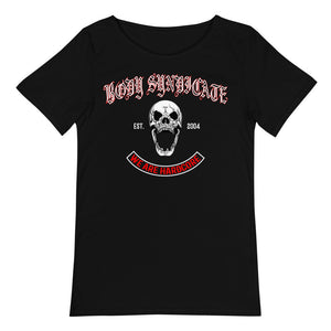 BODY SYNDICATE - Screaming Skull - Raw Neck T-Shirt