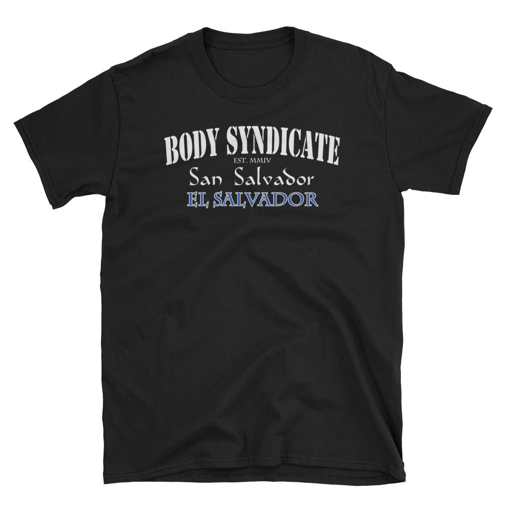 BODY SYNDICATE - San Salvador El Salvador T-Shirt - Worldwide Syndicate Collection