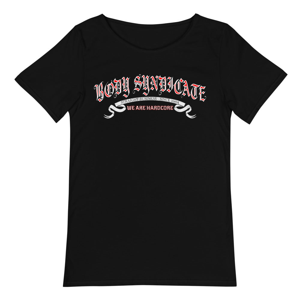 BODY SYNDICATE - Oldschool 3 - Raw Neck T-Shirt